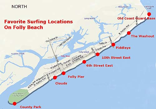 Folly Beach Usa Top Spots For Surfing
